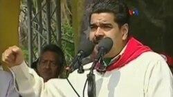 Maduro denuncia que EE.UU. quiere intervenir Venezuela