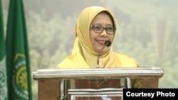Ketua Umum PP Aisyiah, Siti Noordjannah Djohantini. (foto Humas Aisyiah)