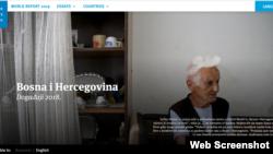 Human Rights Watch 2018. Bosna i Hercegovina