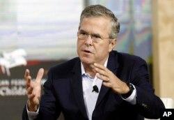 Ông Jeb Bush nói cụm từ 'anchor baby không có tính chất xúc phạm và ông muốn nói một cách cụ thể về những trường hợp gian lận có tổ chức của những người Á Châu tới Mỹ để sinh con.