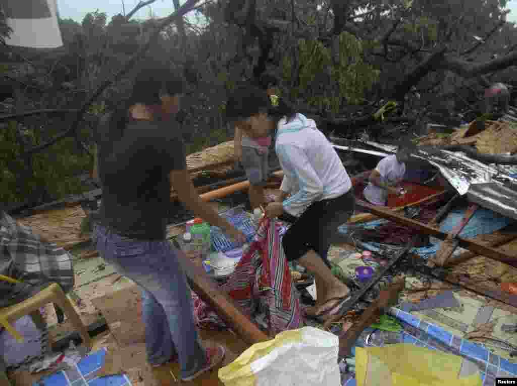 طوفان سے متاثرہ افراد