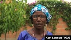 Marlène Tagba, bénéficiaire du programme GACE, à Sokodé, au Togo, le 13 mai 2017. (VOA/Kayi Lawson)