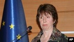 欧盟负责外交事务高级官员阿什顿 (资料照片)