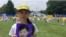 16岁的徐鑫洋来自中国辽宁。父亲徐大为因为印刷法轮功材料被判刑八年。出狱13天后死亡。(美国之音萧雨拍摄)