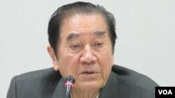 民进党立委陈唐山 (美国之音张永泰拍摄)