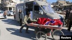 阿勒頗平民作好準備撤離