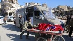 ဆီးရီးယား ကယ္ဆယ္ေရးလုပ္ငန္းေတြျပန္စဖို႔ သေဘာတူ