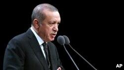 Perezida Recep Tayyip Erdogan wa Turukiya