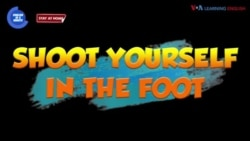 English in a Minute: Shoot Yourself in the Foot