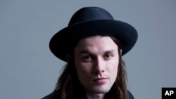 James Bay à New York, le 10 nov. 2015