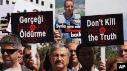 Nghiệp đoàn ký giả Thổ Nhĩ Kỳ cho biết có 22 nhà báo đã bị đình chỉ công tác vì tường thuật các cuộc biểu tình chống chính phủ, trong khi 37 ngưòi khác bị buộc phải từ chức.
