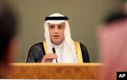 沙特阿拉伯外交大臣朱贝尔