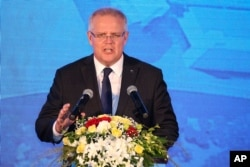 Australian Prime Minister Scott Morrison will discuss his country's involvement in the Strait of Hormuz, with world leaders at the G7 summit in France.