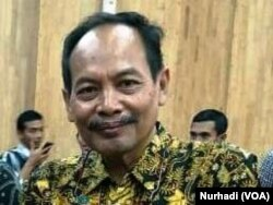 Topan Herianto, Ketua Jurusan Teknik Perminyakan UPN Veteran Yogyakarta. (Foto: VOA/Nurhadi)
