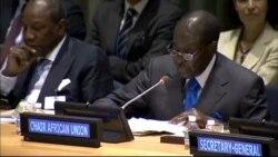Zimbabwe President Robert Mugabe Speaks At Ebola Conference - PT. 1