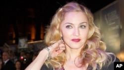 Pop star Madonna (file photo)