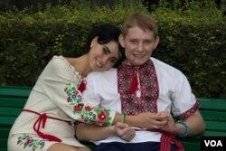 Вадим і Олена Ушакови