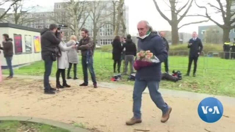 Les habitants rendent hommage aux victimes d'Utrecht