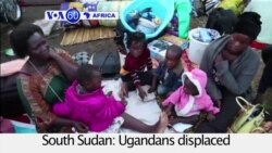 VOA60 Africa- Ugandans displaced by military fighting, line the streets of Juba, waiting to be evacuated by the Ugandan army