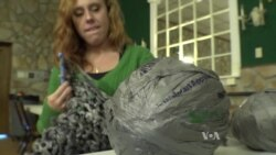 Women Crochet Plastic Bags to Help the Homeless
