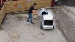 Robot Antaran Swakemudi, Solusi Pengiriman Tanpa Kontak