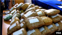 Narkotikë të konfiskuar në Kosovë