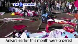 VOA60 World - Turkey: Islamic State Behind Peace Rally Bombings