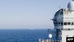 Máy bay trực thăng tấn công Gazell trên hàng không mẫu hạm Tonnerre của Pháp ngoài khơi Libya