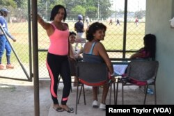 """Mothers gather to watch and cheer as their sons, mostly in their late teens and early 20s, compete to join the """"Industriales,"""" one of the most revered (and hated) teams in Cuban baseball."""