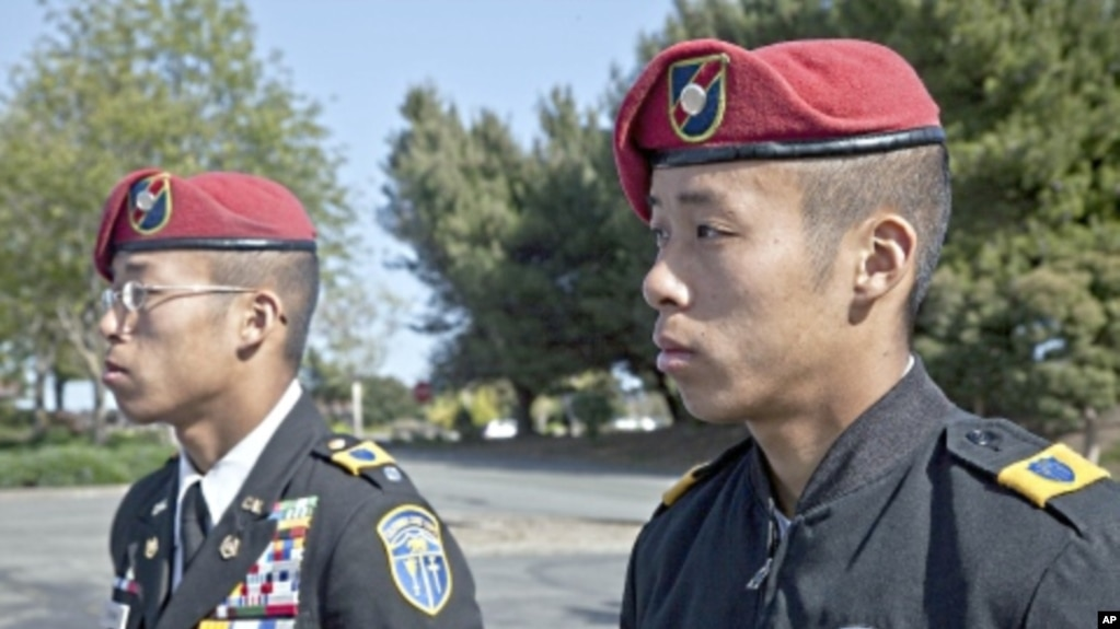 Us military sees surge in asian american recruits the rising visibility of asian americans already in the service may make a military career sciox Gallery