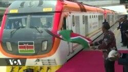 Rais Kenyatta afungua rasmi awamu ya pili ya treni ya SGR