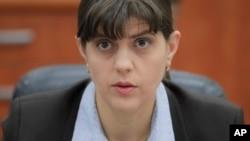 Laura Codruta Kovesi, ketua jaksa pada Direktorat Anti Korupsi Nasional Romania.