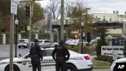 La policía del condado de Montgomery en Maryland respondió al llamado. Foto: AP