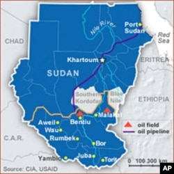 North-South Sudan oil pipeline