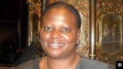 UNkosazana Sandra Nyaira ubhubhele eHarare ngoLwesibili.