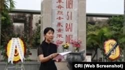 Bà Doãn Hải Hồng-Đại biện lâm thời Đại sứ quán Trung Quốc tại Việt Nam.