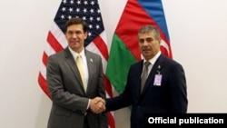 Azərbaycan və ABŞ müdafiə nazirləri görüşüb