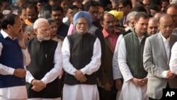 بھارت میں حزبِ اختلاف کی سب سے بڑی جماعت کانگریس نے کہا ہے کہ وہ اس معاملے پر سیاست نہیں کرے گی۔ (فائل فوٹو)
