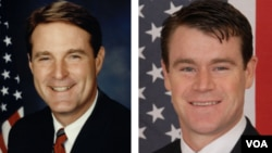 Indiana Senate race: Democrat Evan Bayh vs. Republican Todd Young