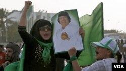 Rankont Entènasyonal sou Yon Libi San Gadhafi