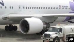 夏威夷航空公司一架波音767客机