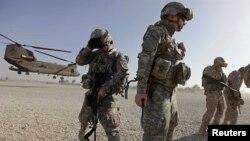 Tentara Amerika Serikat di Afghanistan. (Foto: Dok)