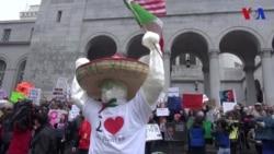 Protestas en El día de los Presidentes
