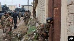 Iračke specijalne jedinice u Godžaliju na istoku Mosula, 2. novembar 2016.