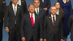 Cekcok Trump dengan Para Pemimpin Lainnya Mendominasi HUT ke-70 NATO