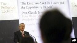Žan Klod Junker, premijer Luksemburga i predsednik Evrogrupe