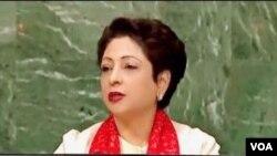 اقوام متحدہ کے لیے پاکستانی سفیر ملیحہ لودھی،