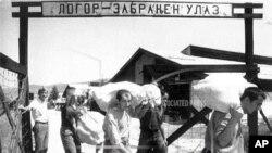 Logor Manjača u blizini Banja Luke je samo jedan u nizu logora formiranih tokom rata u BiH.
