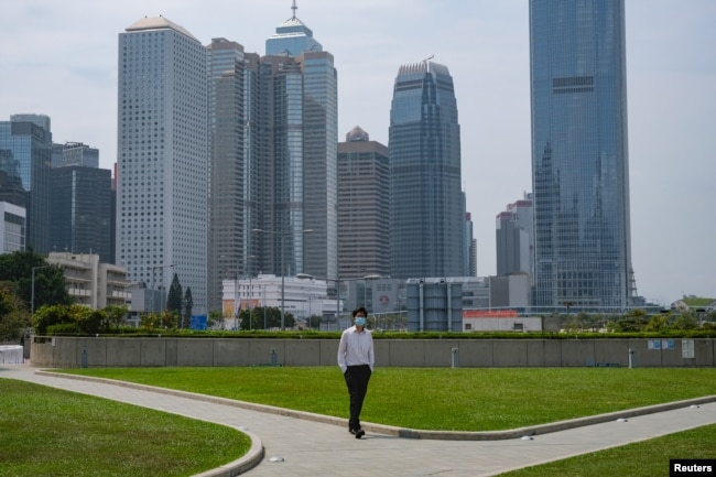 香港金融区(2020年3月27日)