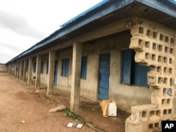 Bethel Baptist High School terlihat setelah serangan oleh orang-orang bersenjata di Damishi Kaduna, Nigeria, 6 Juli 2021. (Foto: AP)